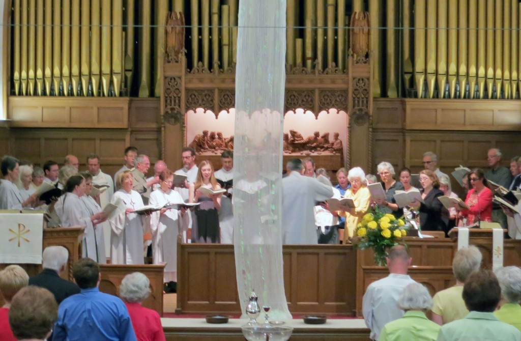 ascension sunday choir