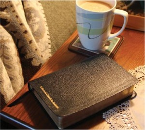 at home with the word